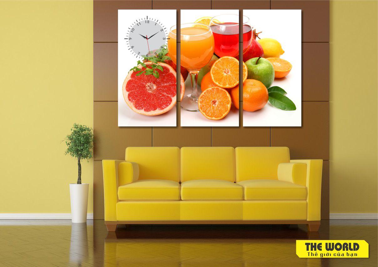 tranh treo tường hoa quả