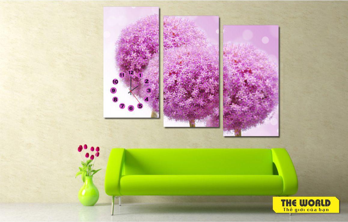 tranh treo tường hoa lá đẹp