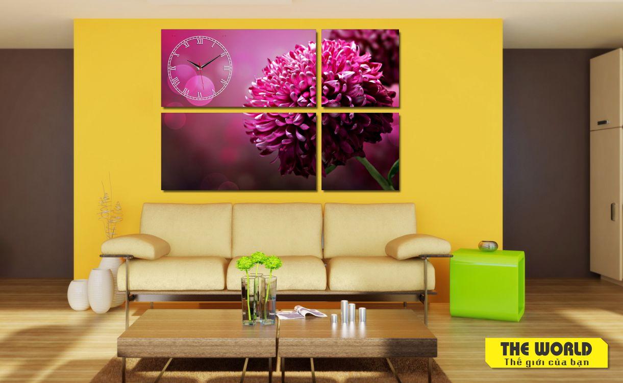 tranh treo tường hoa lá